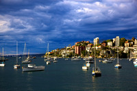 Double Bay Sydney Harbour - Light before the Storm