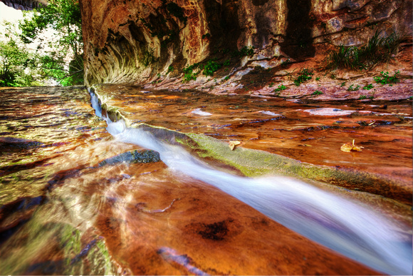 The Chute - Subway Canyon in Zion National Park