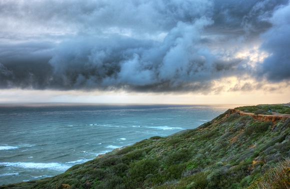 Stormy Seascape - Point Loma Peninsula, San Diego, CA
